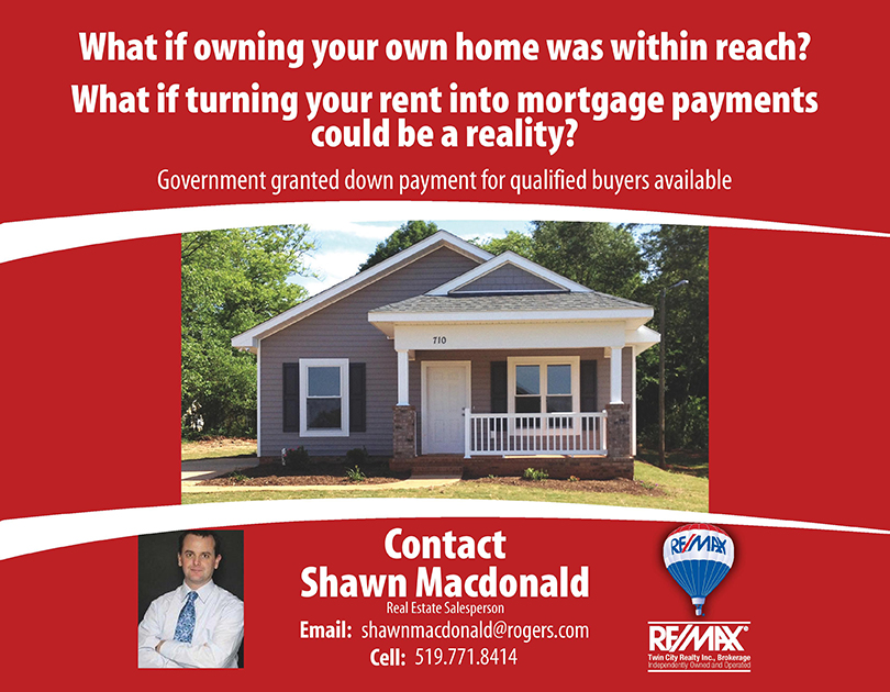 Own your home and stop renting
